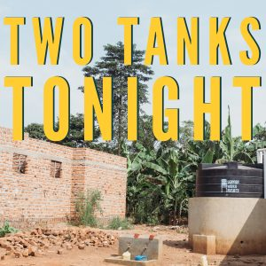 Picture advertising two tanks event