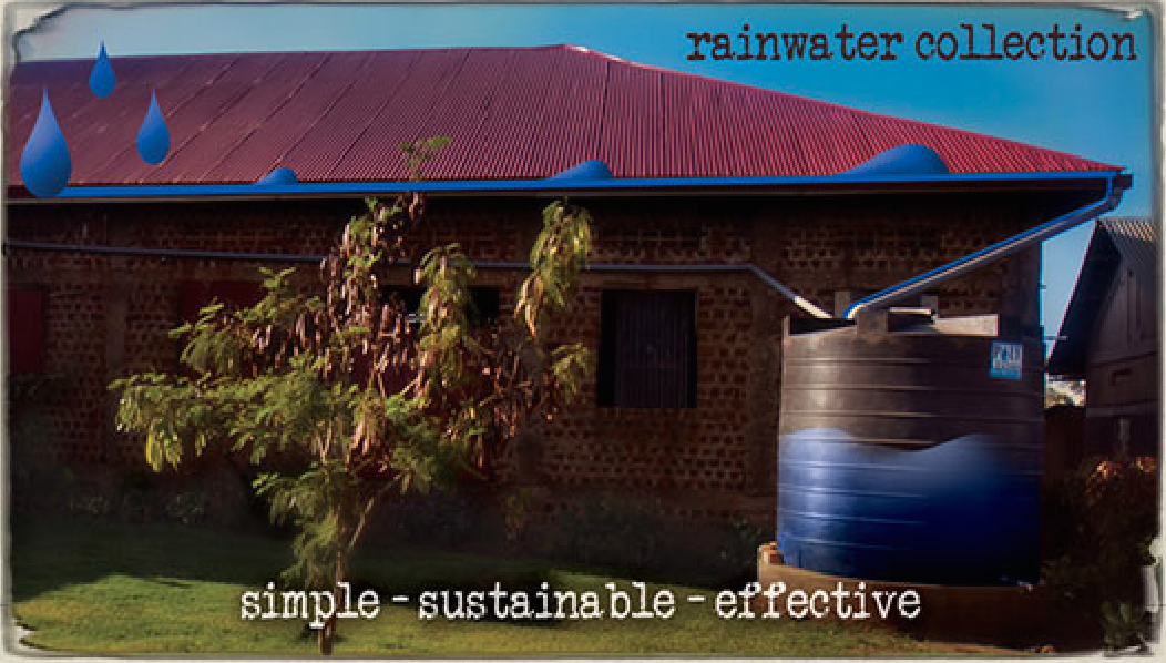 Rainwater Collection Uganda