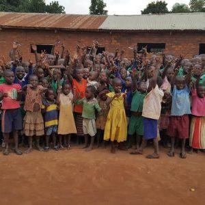 The students of Linda Good Samaritan Primary School