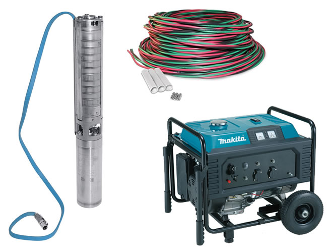Test Pump Equipment Set