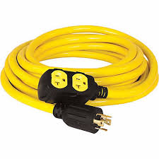 yellow cable and connection kit for test pumping