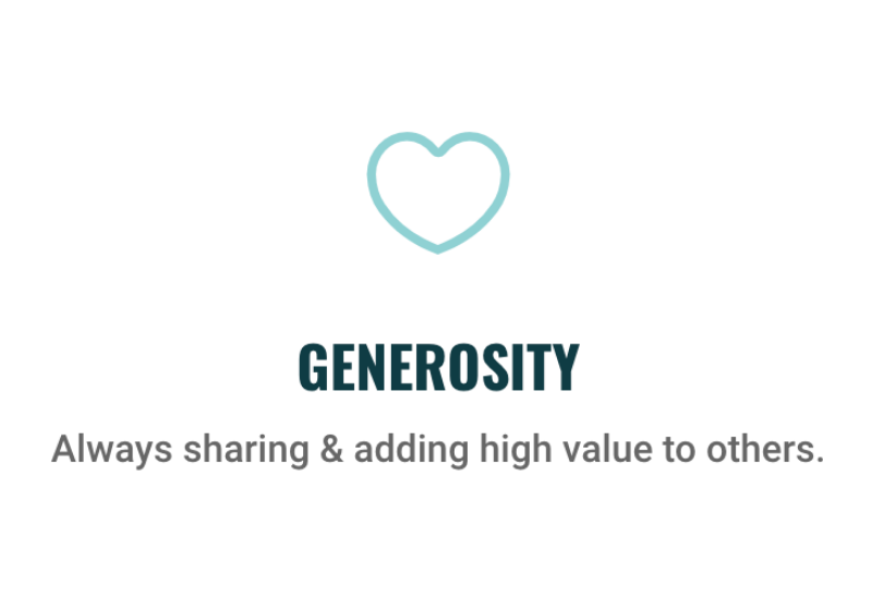 UWP Values (Generosity)