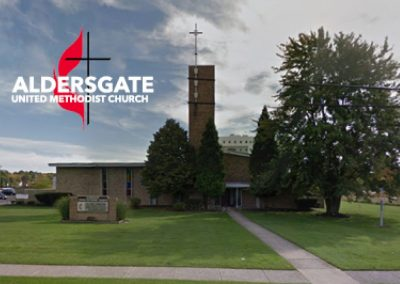Aldersgate United Methodist Church – $3,600